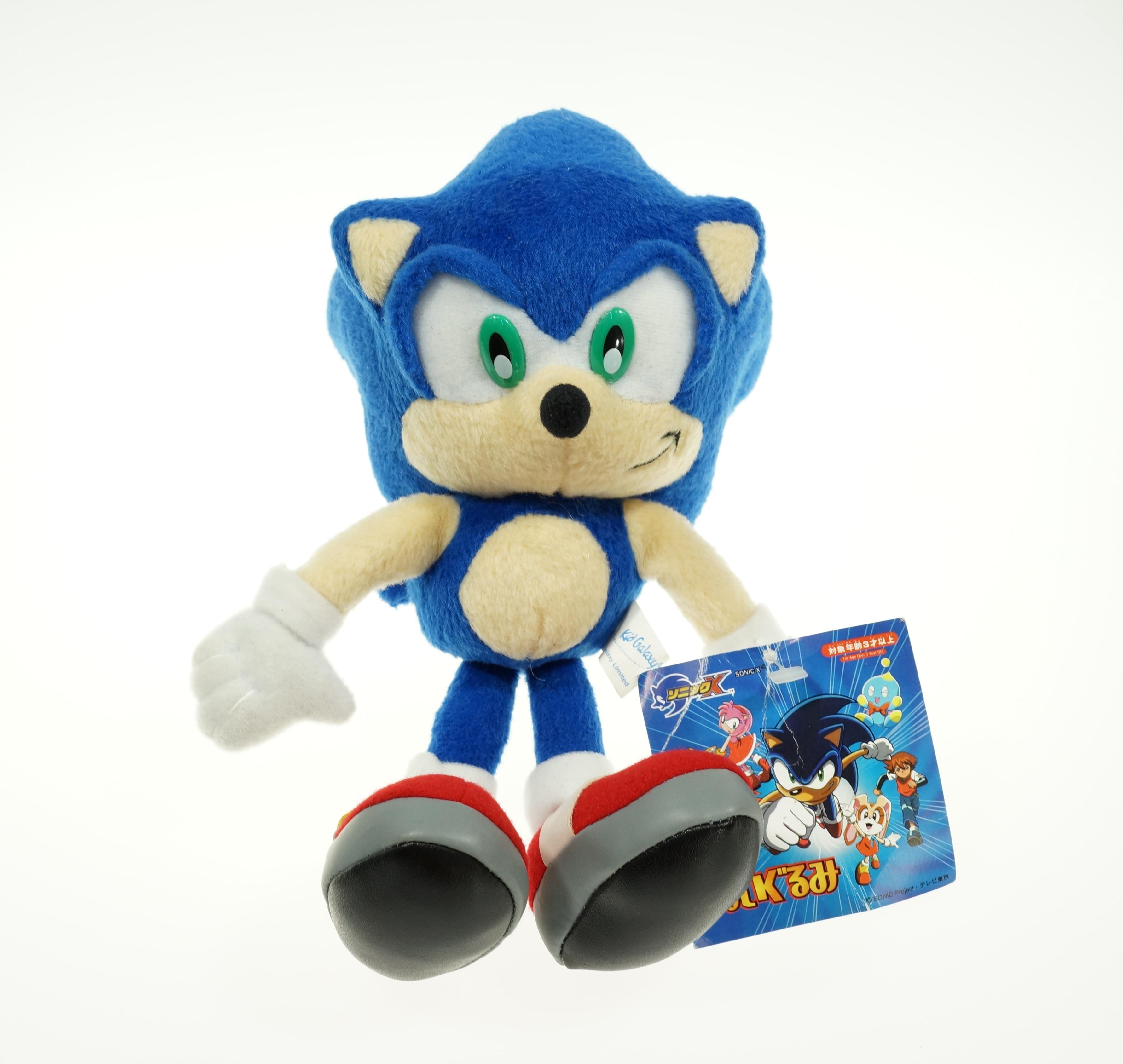 Sonic 23CM  Hedgehog Movies /& TV Game Soft Stuffed Plush Toys