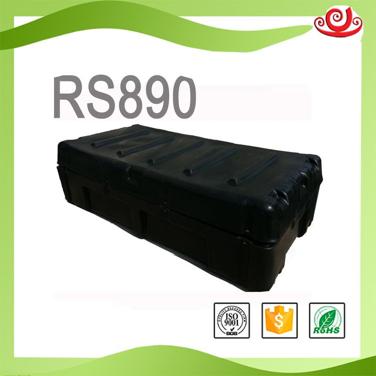 Shanghai Factory Tricases Rotational Mold Plastic Hard Military Case Large Euipment Case RS890