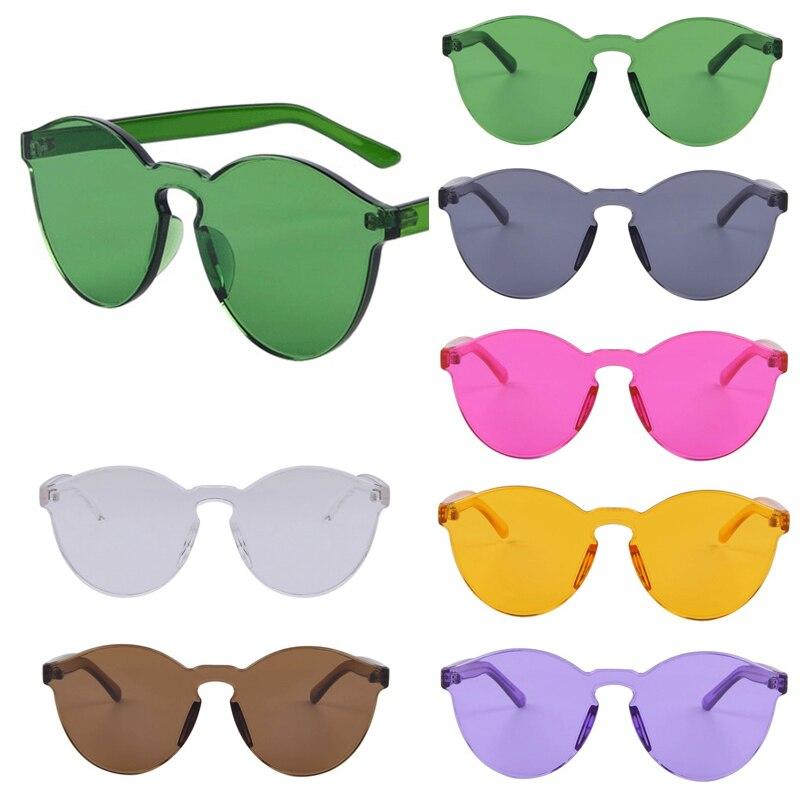 HTB1XjndOVXXXXaXapXXq6xXFXXXt - Fashion Women Flat Sunglasses Luxury Brand Designer Sun glasses Integrated Eyewear Candy Color UV400 de sol feminino