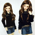 Sweetie Semi-Yarn Shirt For BJD Girl 1/4 MSD,1/3 SD10/13 LUTS.AS.DZ SD Doll Clothes CW60