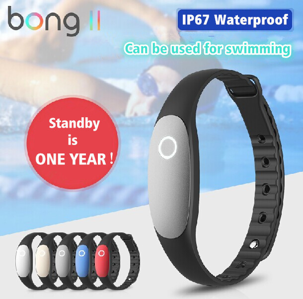 Original Bong 2 Smart band sports bracelet bong II waterproof pedometer Fitness Wearable Tracker Bluetooth wristbands