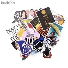Patchfan 20pcs How i met your mother 90s decals scrapbooking