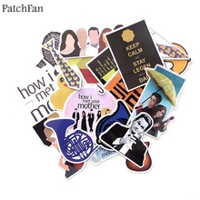 Patchfan 20pcs How i met your mother 90s decals scrapbooking Kids font b Toy b font