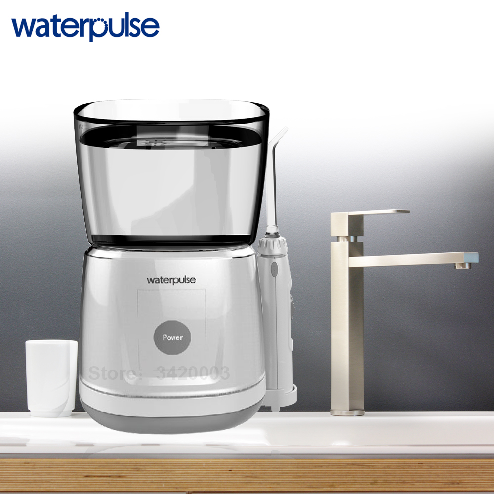 Image 4 - Waterpulse V700 Portable Water Flosser Touch Start Waterproof Oral Orrigator LED Touch 5 Tips Electric Household Dental Floss-in Oral Irrigators from Home Appliances
