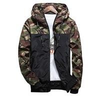 Giraffita Soft Shell Military Tactical Jacket Men Waterproof Windproof Warm Coat Camouflage Hooded Camo Army Clothing