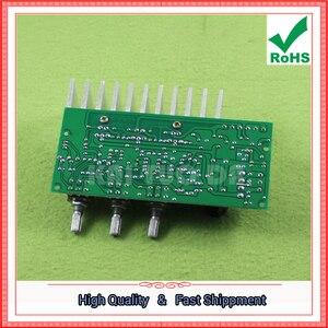 Image 5 - TDA2050 + TDA2030 2,1 трехканальный/канальный модуль, Плата усилителя сабвуфера, готовая плата лапки 60 Вт 0,6 кг