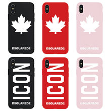 c688dd037fd DS2 Dsquared Brand NEW ICON Maple Hyper Soft Case for iPhone 7 8 7Plus  8Plus 6
