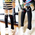 High quality Children cotton stocking 5 color baby leg warmers girls stockings student stocking