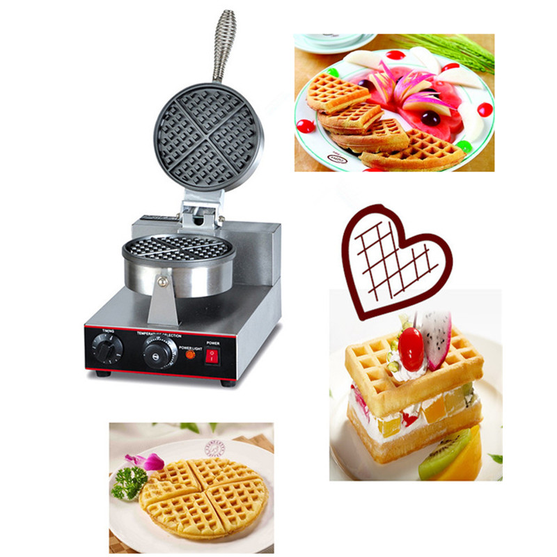 Commercial Non-stick Plate Small Hong Kong Waffle Maker export eu hong kong waffle maker commercial for sale