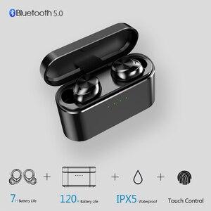 Image 1 - OUKK TWS X20 Plus 3000mAH Charging Case Wireless Headphone Bluetooth 5.0 Waterproof IPX5 Deep Bass Earphone Bluetooth Earbuds