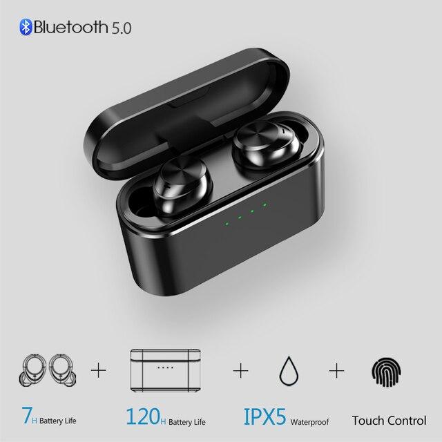 OUKK TWS X20 Plus 3000mAH Charging Case Wireless Headphone Bluetooth 5.0 Waterproof IPX5 Deep Bass Earphone Bluetooth Earbuds