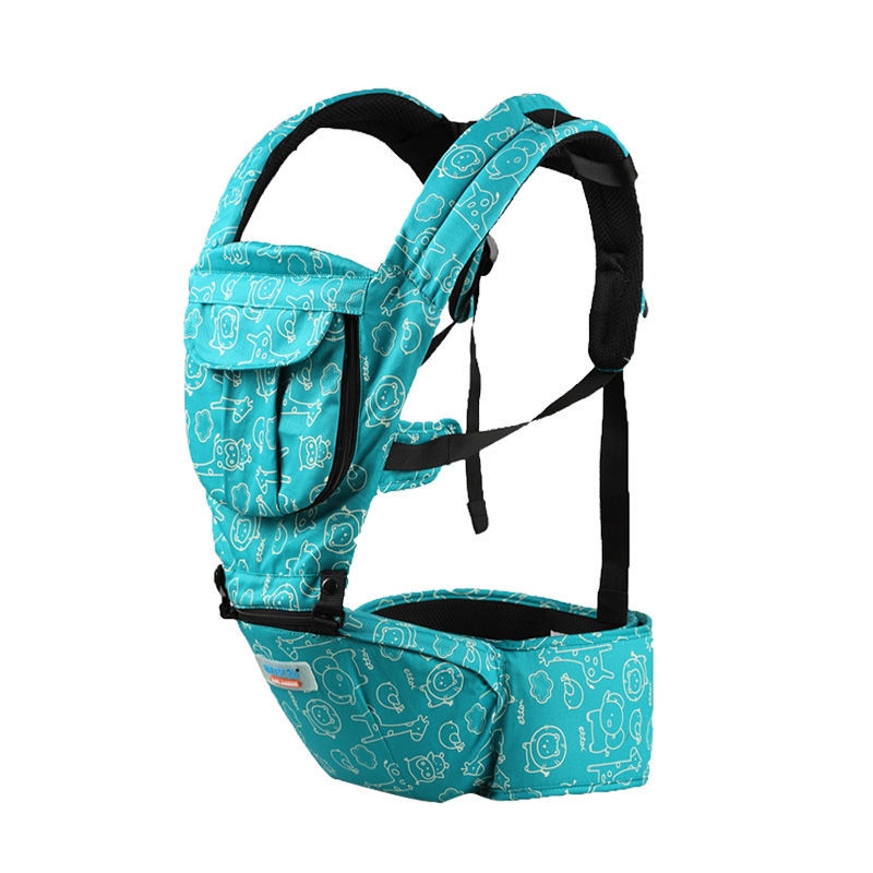 New Fashion Baby Carrier Hipseat Baby Backpack Ergonomic Pure Cotton Carrier Multifunctional Baby Newborn Wrap Slings hot baby carrier infant hipseat backpack children s backpack multifunction slings for babies cotton baby hipseat mochilas pt427