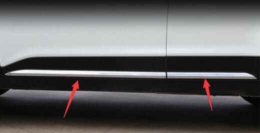 For Hyundai ix25 creta Car Door Body decoration Strip Exterior Trim Cover Chromium Styling creta product accessory 2015 18