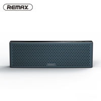 Remax Metal mini Speaker Bluetooth stereo bass outdoor Player portable wireless 3D sound speaker with TF port With mic RB M20|Portable Speakers|   -