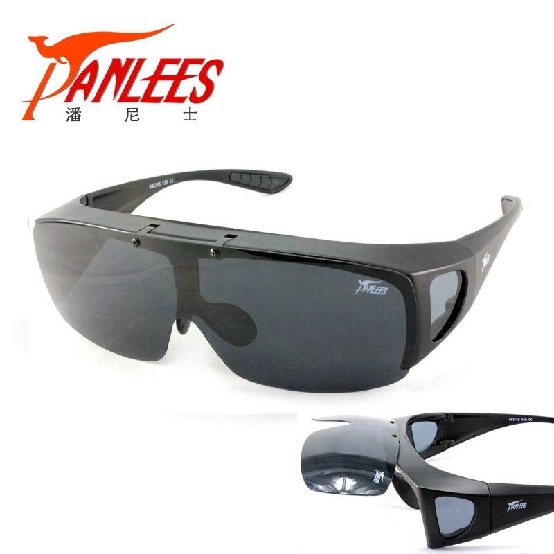 Prix pour Marque garantie! Mode UV400 lunettes de soleil de poissons de lunettes Fit plus de lunettes de soleil polarisées de pêche lunettes Flip up livraison gratuite