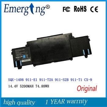 14.4V 74.88WH New Laptop Battery For ThundeRobot 911-E1 911-T2A 911-S2B 911-T1 Chimera CX-9 SQU 1406 SQU-1406 фото