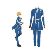 2ac54fa4f54 Бесплатная морской меч арт онлайн Alicizatio Eugeo Косплей Костюм боевой  костюм унисекс аниме костюм для хэллоувечерние