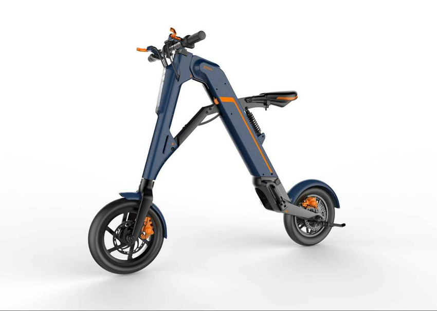 high end foldable electric scooter 36/48V 9AH