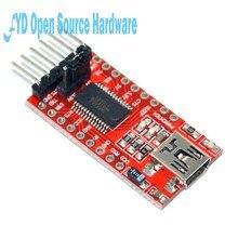 Ft232rl ft232 ftdi usb para ttl 3.3v 5.5v série adaptador módulo cabo de download para mini porta