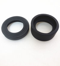 36mm Rubber Eye Guards Cylinder Shield Cups for Biological Stereo Microscope Telescope Monocular Binoculars