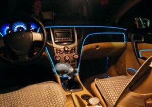 Image 4 - Car Interior Atmosfera Luci Per Volkswagen VW Polo Passat B5 B6 CC Golf 4 5 6 7 Touran T5 Tiguan bora Scirocco