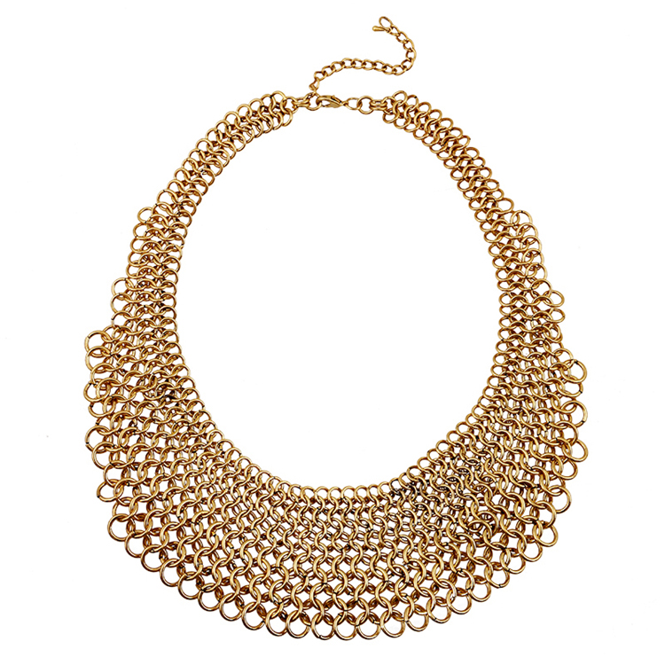 2016 New Arrival Fancy Design Gold Plating Necklace Collar ...