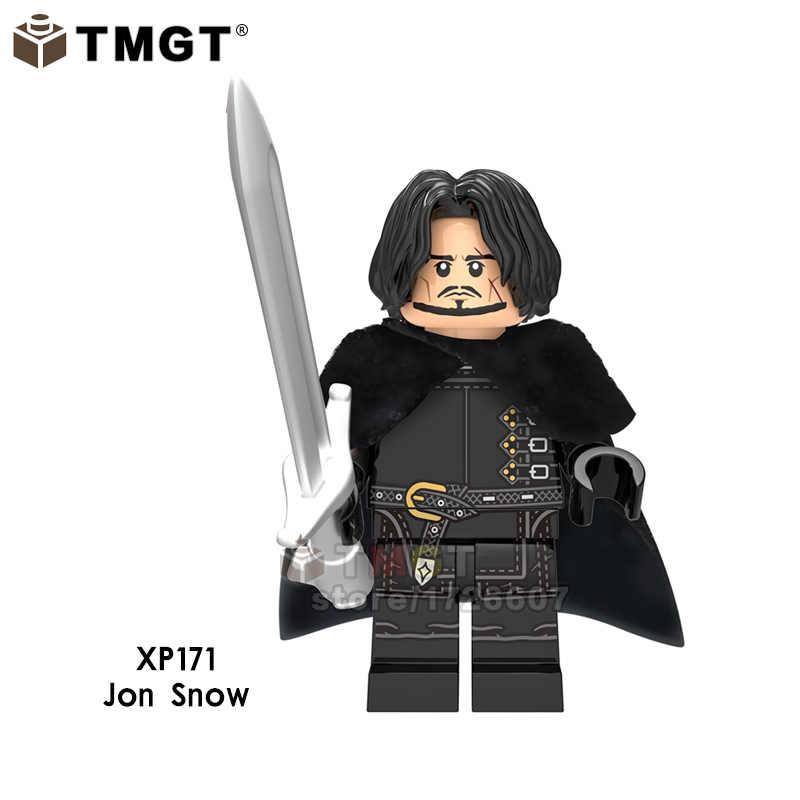 Game of Thrones único: a Última Temporada john snow Khal Drogo Tyrion Lannister Coleção de Blocos de Construção de brinquedos para crianças presente