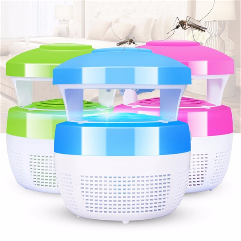 Contemplative Usb Electronics Mosquito Killer Led Light Smart Optically Safety Controlled Insect Killing Lamp For Living Room Bedroom Kitchen Usb Gadgets Computer & Office