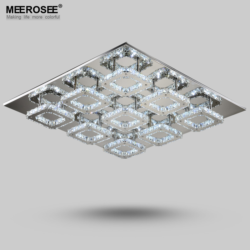 Modern Led Diamond Crystal Ceiling Light Ing Lamp For Hallway Corridor Fast Shipping Flush Mount In Lights From