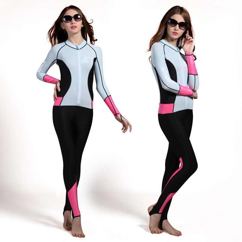 Lycra Scuba Dive Skins voor Mannen of Vrouwen Snorkelen Apparatuur Water Sport Nat Jump Suits Jumpsuit Badmode Wetsuit Rash Guards