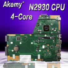 Akemy X551MA материнская плата для ноутбука ASUS X551MA X551M X551 F551MA D550M Тесты оригинальная материнская плата N2930 4-х ядерный Процессор