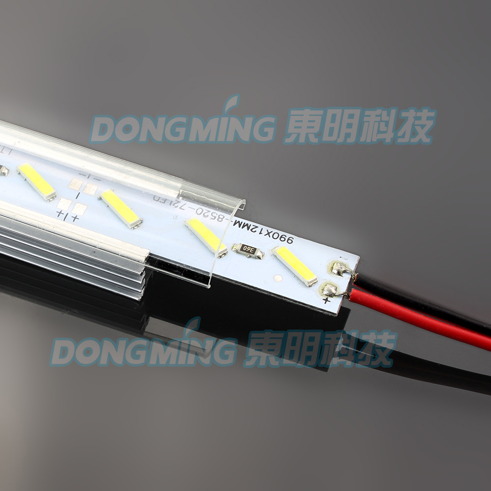 2pcs Dimmable Under Cabinet Strip Lighting7020 7030 9w 50cm Touch Switch Control Kitchen Led Light B Dc12v Rigid Strip Light 5 1m Led Bar Light Aluminum Profile Smd 8520 Led Under Cabinet