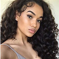 250% Density Malaysian Loose Curl Lace Front Human Hair Wigs Black Women 7A Lace Front Wigs Full Lace Human Hair Wigs Baby Hair