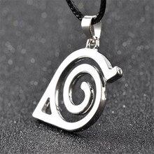 Anime NARUTO Uzumaki Naruto Cosplay accessoire enfants adulte Konoha symbole porte-clés Uchiha Itachi métal pendentif collier A788