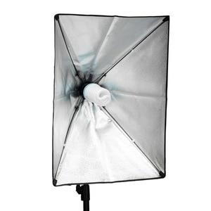 Image 5 - 200 w 5500 k e27 220 v cfl blub para o equipamento de iluminação fotográfico do estúdio softbox 92% cri