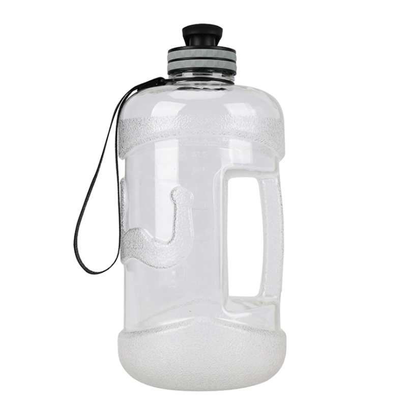 2 2L Large Capacity Tritan Water Bottles Outdoor Sports GYM Drink Water Kettle Camping Running Workout Water Bottle in Water Bottles from Home Garden