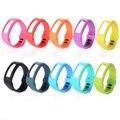 10PCS Silicone Replacement Wrist Band Strap w/ Clasp for Garmin Vivofit Bracelet TH096