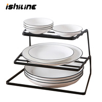 Kitchen Organizer Dish Rack Stainless Steel Spoon Holder Pot Lid Shelf Cooking Dish Rack Storage Holders Kitchen Accessories