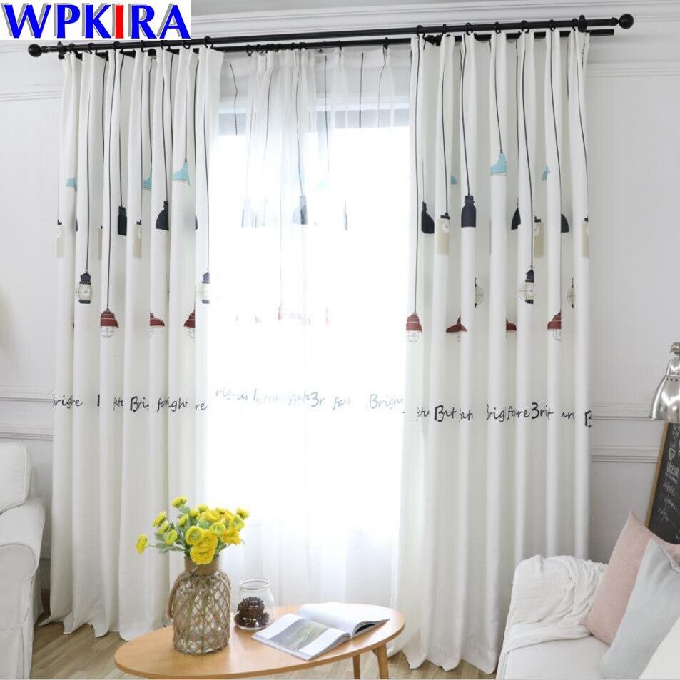 Black N White Lamp Style Ins Northern Europe Design Semi