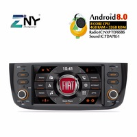 Android Car Radio For Grande Punto Linea 2012 2015 Multimedia Audio Video Player FM RDS WIFI GPS Navigation Stereo Gift Camera
