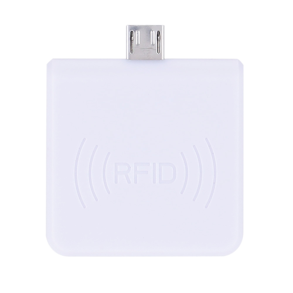 imágenes para Lector de tarjetas ic rfid de proximidad smart 13.56 mhz usb portátil win8/android/otg apoyado r65c control de acceso