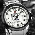 Naviforce Famous Brand Watches Men Luxury Brand Steel Bracelet Calendar Clock Sport Military Waterproof  Relogio Masculino