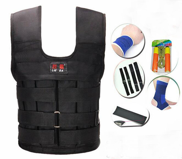 Physical Training Vest Empty Sand Bag Invisible Weight Bearing Sandbags Running Garments Without Steel
