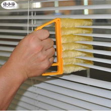 Hot Useful Microfiber Window cleaning brush air Conditioner Duster cleaner with washable venetian blind blade cleaning cloth