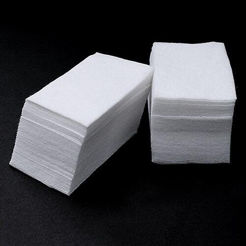 900 шт. ногтей советы маникюр для снятия лака чистый салфетки хлопок безворсовой блокнотов