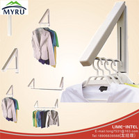 Multi Function European Wall Drying Rack Foldable Clothes Hanger