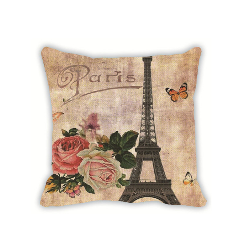 Cushion Cover Printed Throw Pillow Covers 18x18 Cover Cushion Channel Home Decoration Pilows ...