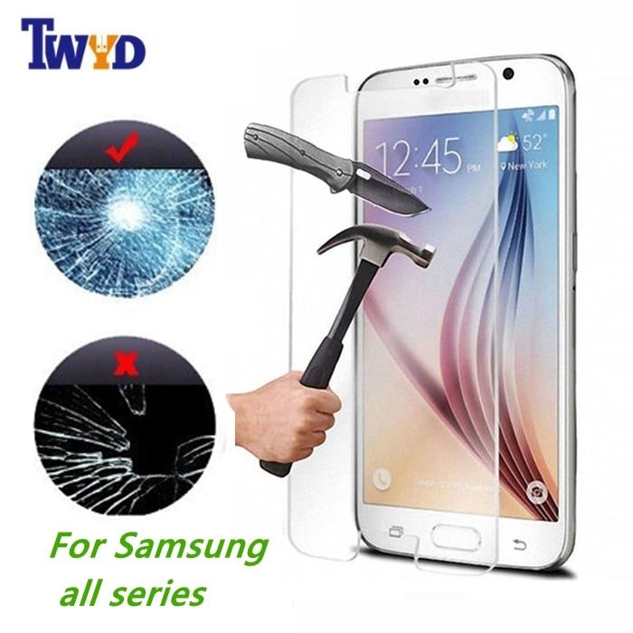 Samsung Galaxy S7 S6 A5 A3 G530 Tempered Glass 0.3mm Ultra İncə - Cib telefonu aksesuarları və hissələri - Fotoqrafiya 2