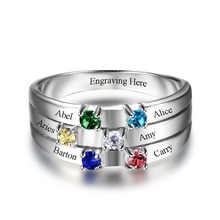 Hexy BirthstoneFriends and Family Ring