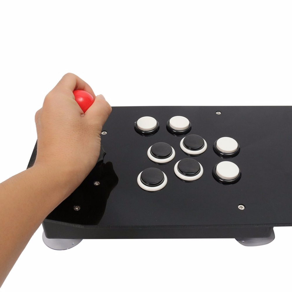 Ergonomic Design Double Arcade Stick Video Game Joystick Controller Gamepad For Windows PC Enjoy Fun Game 15 pin for arcade stick game console joystick for n e o geo for s n k